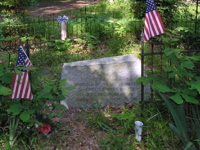 Grave Site of Abel Kolb image. Click for full size.