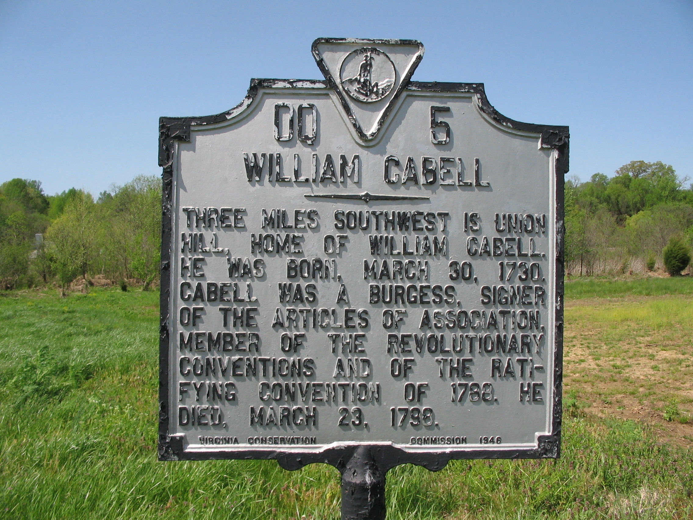 William Cabell Marker