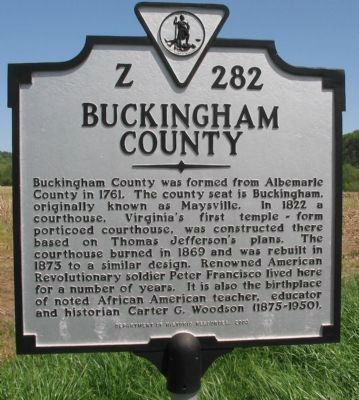 Buckingham County Side image. Click for full size.