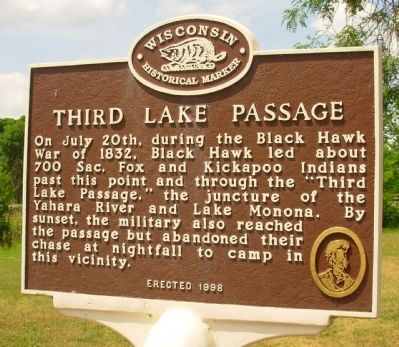 Third Lake Passage Marker image. Click for full size.
