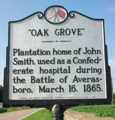 Oak Grove Marker image. Click for full size.