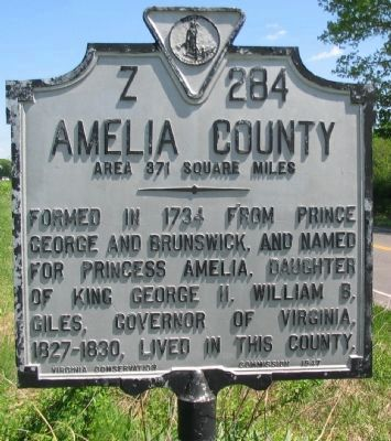 Amelia County Side image. Click for full size.