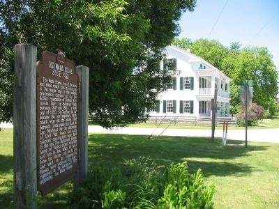 Marker and Wade House image. Click for full size.