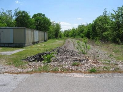 Railroad Bed near Rice's Depot image. Click for full size.