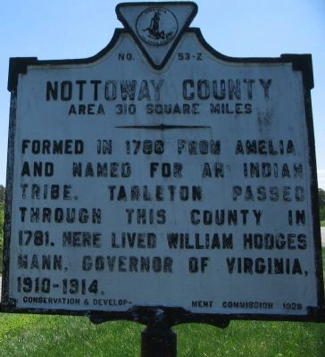Nottoway County Side image. Click for full size.