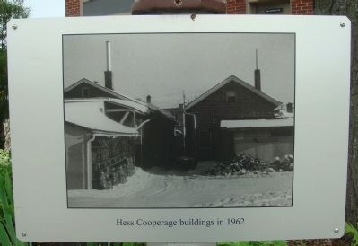 Frank J. Hess and Sons Cooperage Marker image. Click for full size.