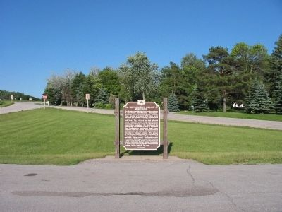 The Brothertown Indians of Wisconsin Marker image. Click for full size.