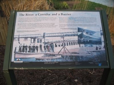 The River: a Corridor and a Barrier Marker image. Click for full size.
