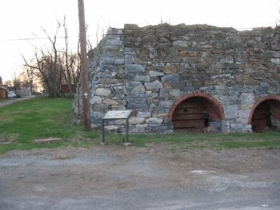 Wrightsville's Lime Kilns Marker image. Click for full size.