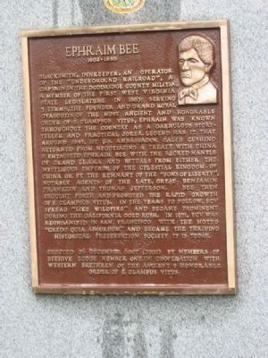 Ephraim Bee Marker image. Click for full size.