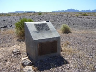 Cibola Arizona Marker image. Click for full size.