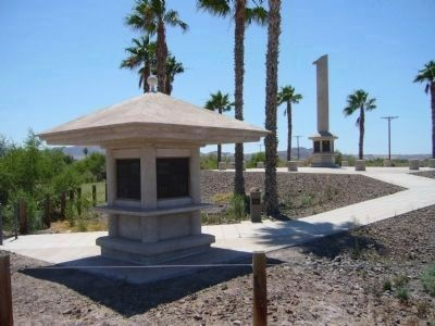 Poston Monument image. Click for full size.