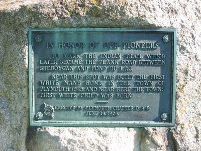 In Honor of our Pioneers Marker image. Click for full size.