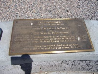 City Founders Marker image. Click for full size.