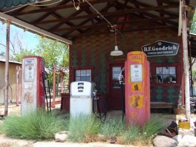Chloride Gas Station image. Click for full size.