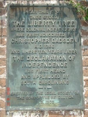 The Liberty Tree Marker image. Click for full size.