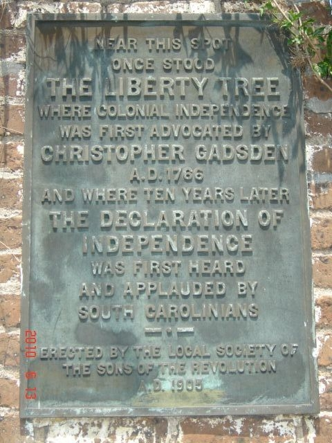 The Liberty Tree Marker