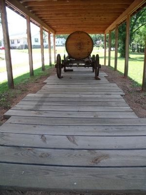Plank Road Exhibit image. Click for full size.