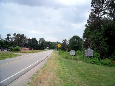 Barnesville Hwy (facing south) image. Click for full size.
