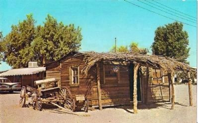 Postcard Image of the Earp Home in Earp, California image. Click for full size.