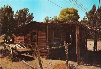 Postcard Image of Earp Cabin image. Click for full size.