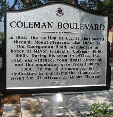 Coleman Boulevard Side image. Click for full size.