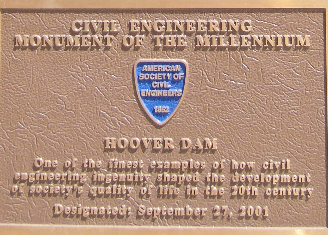 Civil Engineering Monument of the Millennium Marker
