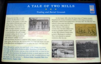 A Tale of Two Mills Marker image. Click for full size.