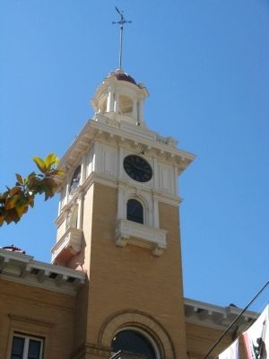 Courthouse Clock Tower image. Click for full size.