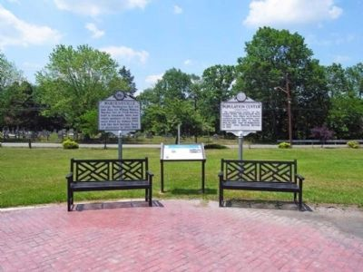 Three Markers in Wardensville image. Click for full size.
