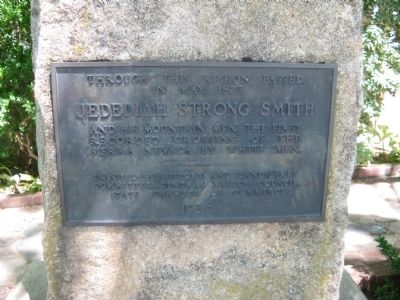 Jedediah Strong Smith Marker image. Click for full size.