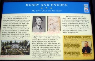 Mosby and Sneden Marker image. Click for full size.