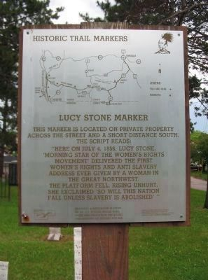 Nearby Historic Trail Markers Sign image. Click for full size.