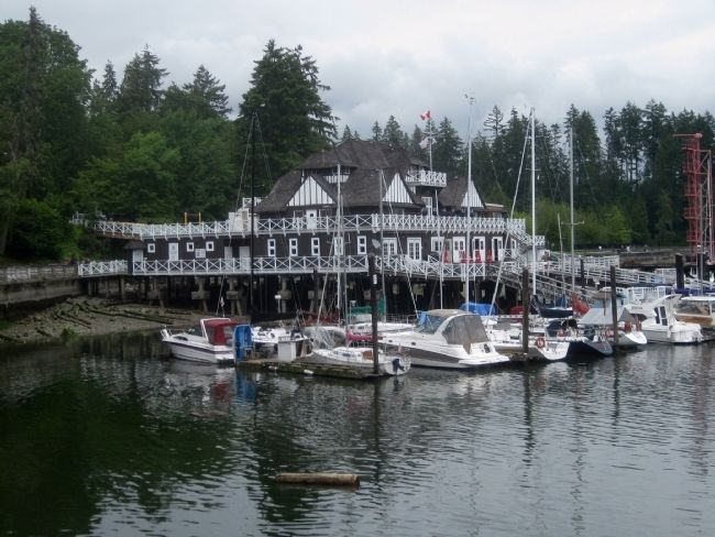 Vancouver Rowing Club - View from southwest during low tide image. Click for full size.