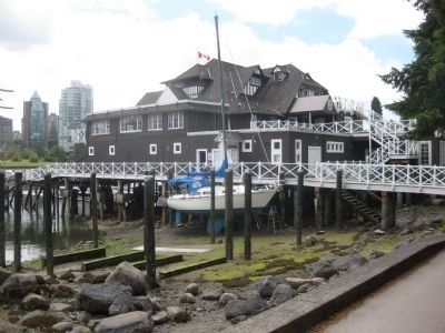 Vancouver Rowing Club - View from northeast image. Click for full size.