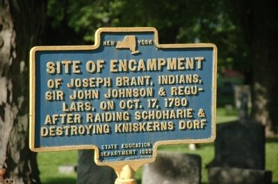 Site Of Encampment Marker image. Click for full size.
