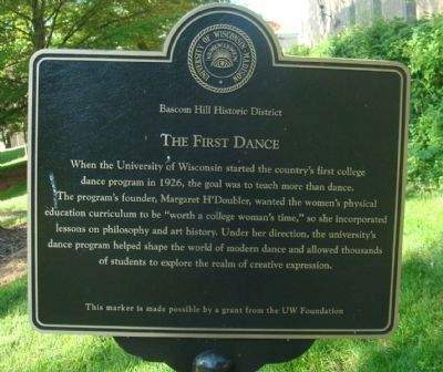 The First Dance Marker image. Click for full size.