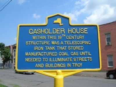 Gasholder House Marker image. Click for full size.
