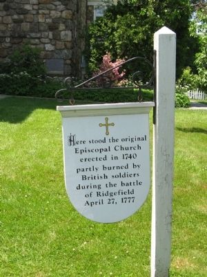 The Original Episcopal Church Marker image. Click for full size.