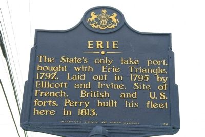 Erie Marker image. Click for full size.