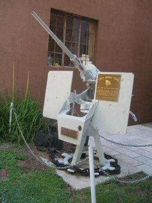 World War II U.S. Navy 20m.m. Anti-Aircraft Gun image. Click for full size.