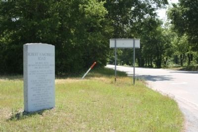 Robert H. Morrell Road Marker, looking east along SC 769 image. Click for full size.