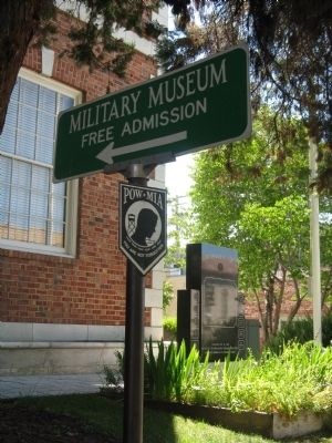 Veterans Memorial Hall - Military Museum image. Click for full size.