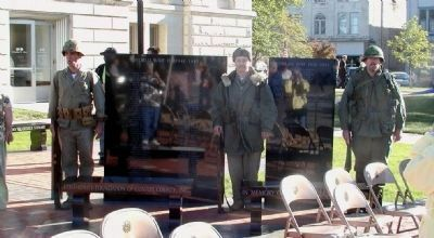 Others at Dedication of Clinton County War Memorial image. Click for full size.