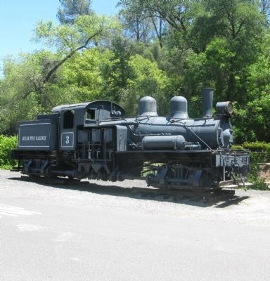 Sugar Pine Railroad Shay Engine #3 image. Click for full size.