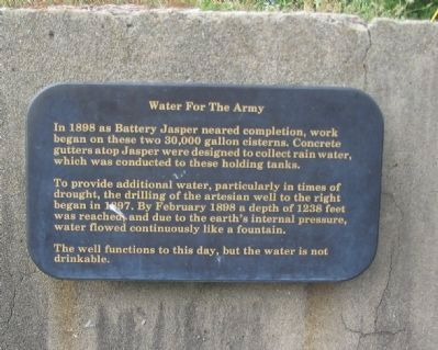 Water for the Army Marker image. Click for full size.
