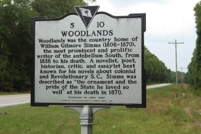 Woodlands Marker image. Click for full size.