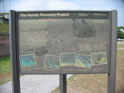 The Hunley Recovery Project image. Click for full size.