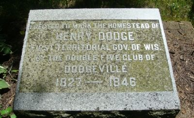 Dodge Homestead Marker image. Click for full size.