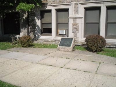 Marker in Pelham image. Click for full size.